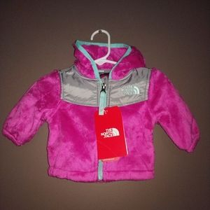 The North Face Infant Oso Hoodie Jacket 3M AP NWT